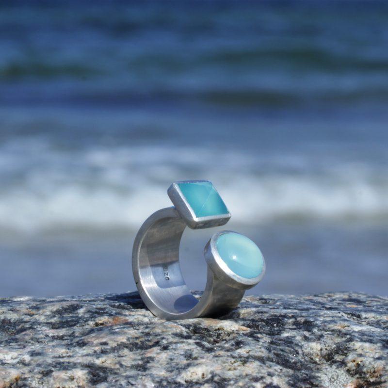 Ring Seablue doppelt 1